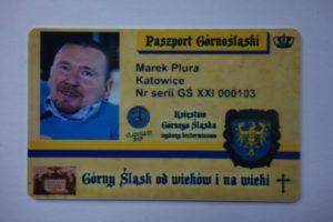 Paszport Górnośląski Marka Plury